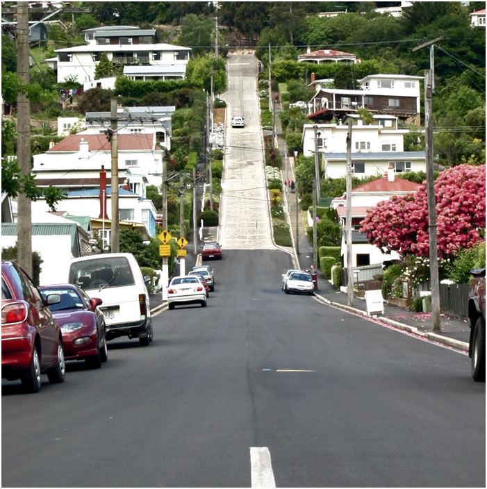 taaaaaaraaaaa- the world steepest street - Baldwin Street