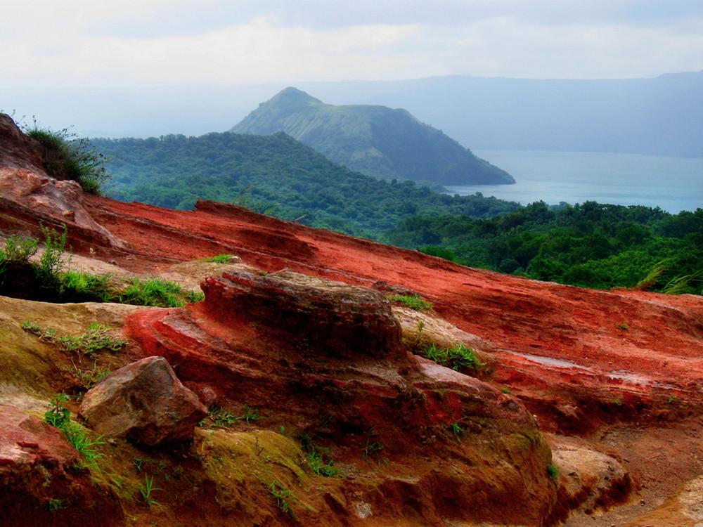 Taal Vulkan Philippinen