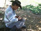Tabakbauer im Vinales-Tal
