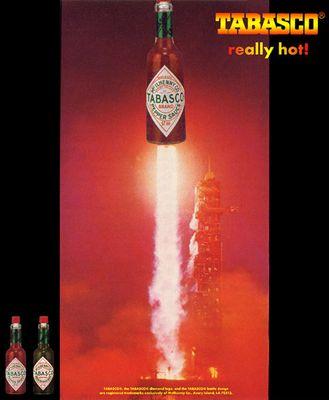 Tabasco- really hot!
