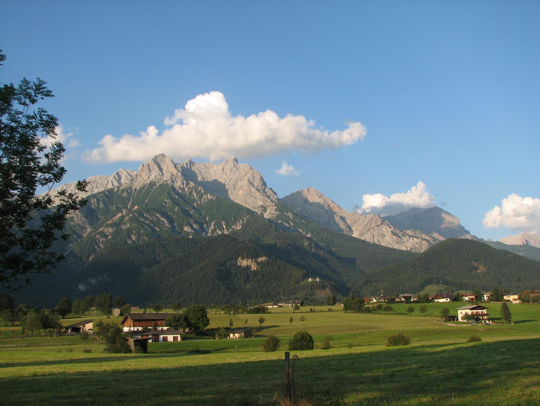 Tableau des alpes autrichiennes