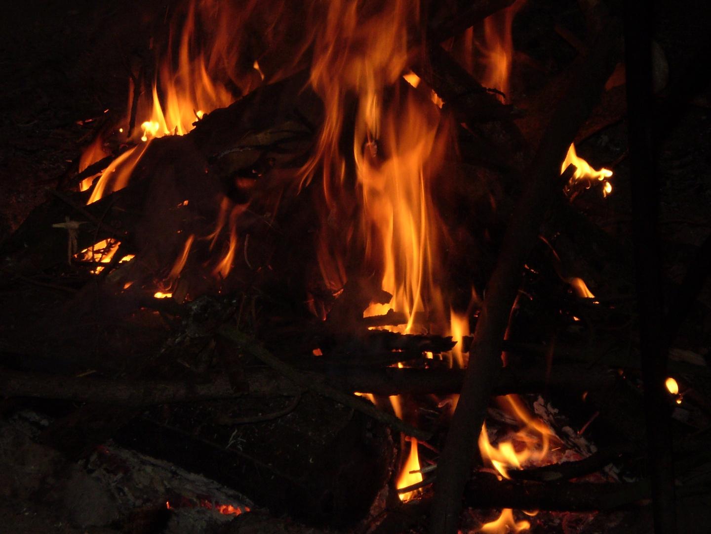 "Táborák na Hadím (Campfire on ""Hadi"")"