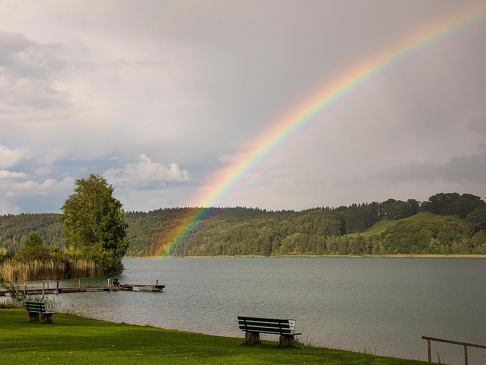 Tachinger See irgendwann mal im August