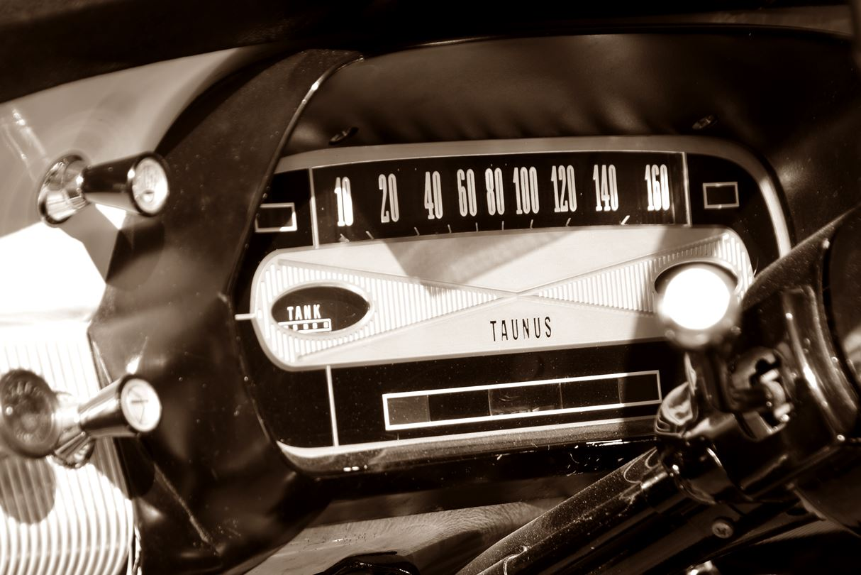 Tachometer Ford Taunus 12m ts