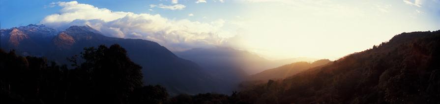 Tadapani - Nepal - Panorama