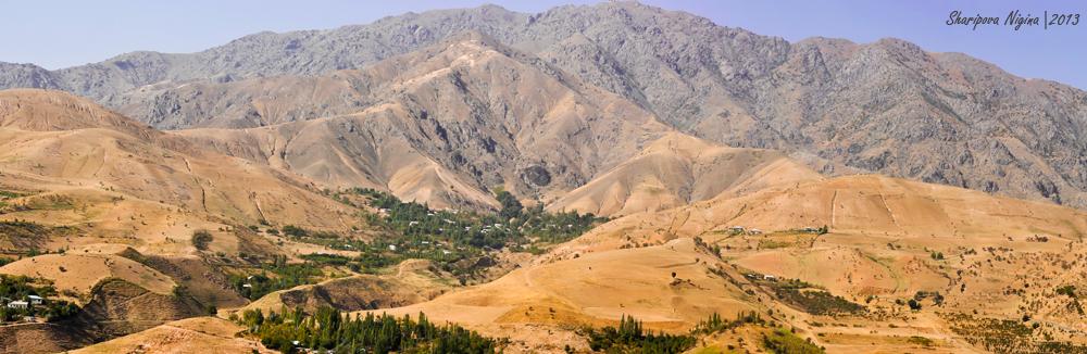 Tadschikische Berge. Luchob, Tadschikistan 2013.