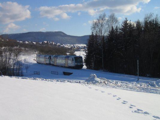 Tälesbahn im Winter 2005