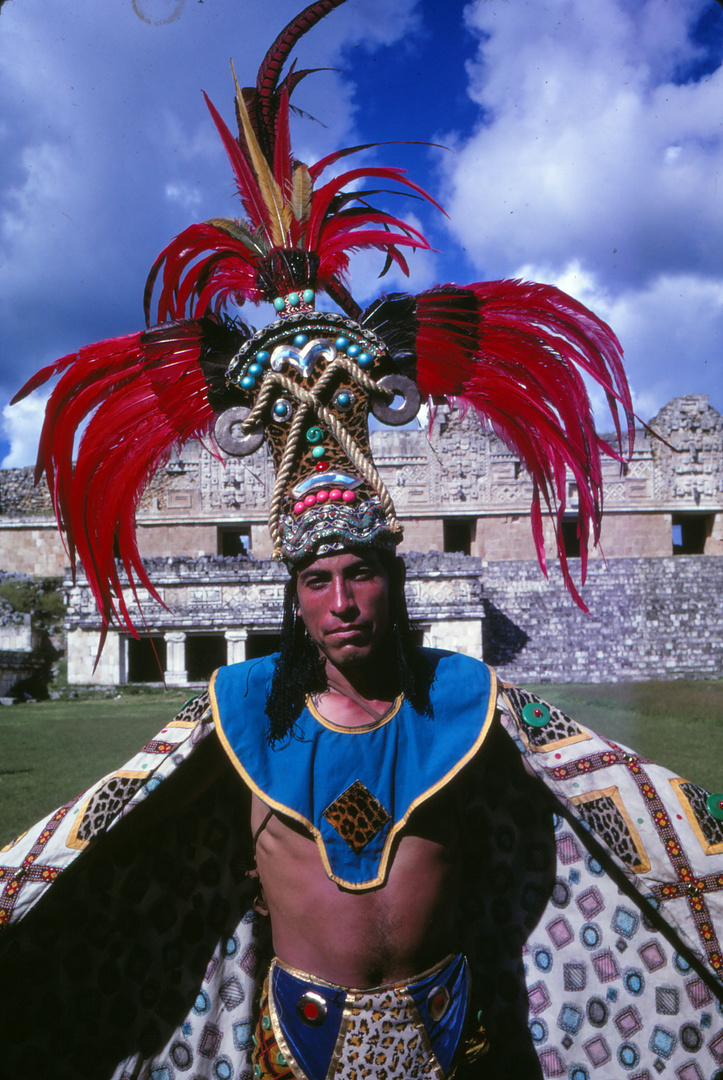Tänzer in Mexiko