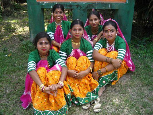 Tänzerinnen in Kalkutta