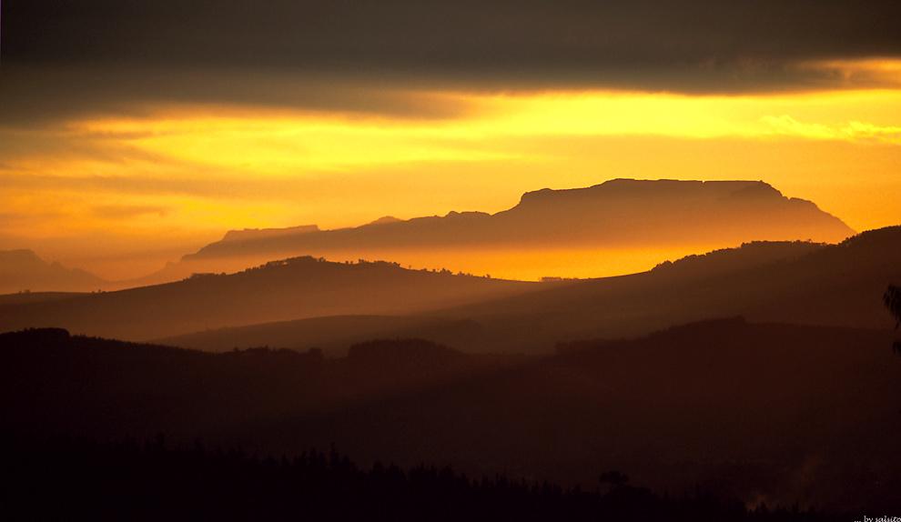 Tafelberg von Norden