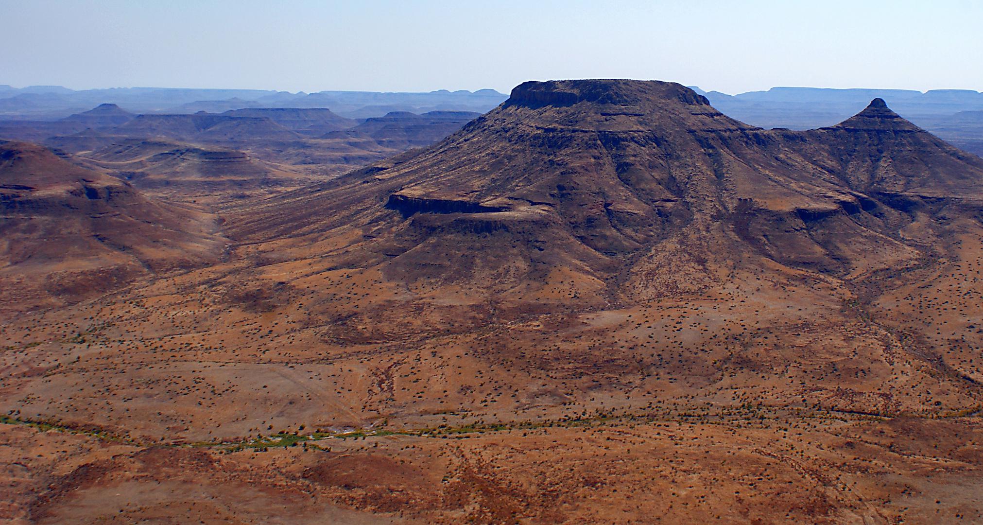 Tafelberge im Damaraland