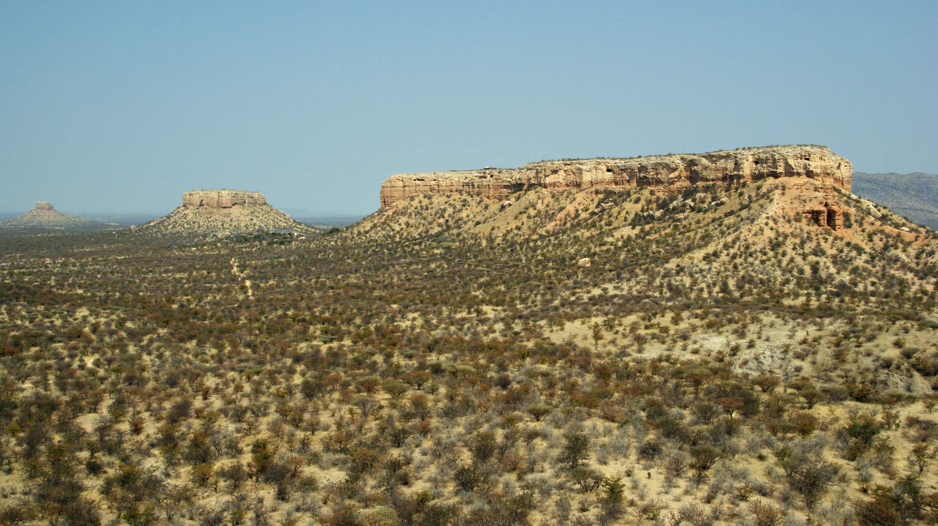 Tafelberge im Ugab-Tal