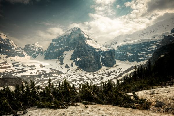 Tag 17: Lake Louise & Plain of six glaciers