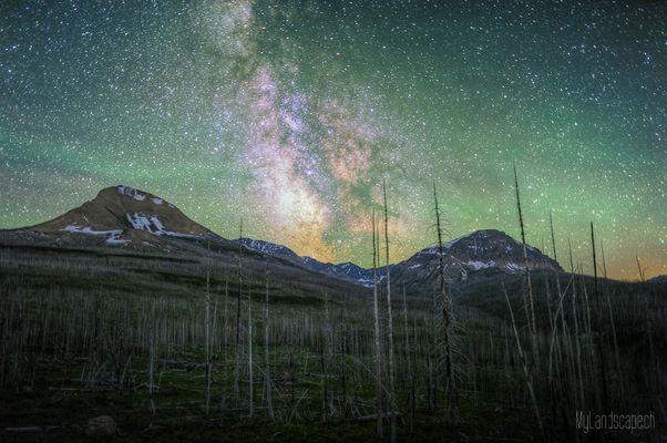 Tag 23½: Stargazing im Glacier Nationalpark