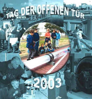 Tag der offenen Tür 2003
