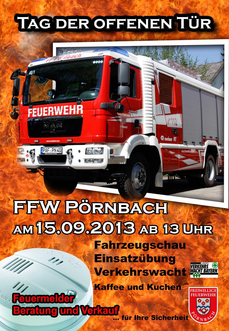 Tag der offenen Tür - Feuerwehr Pörnbach