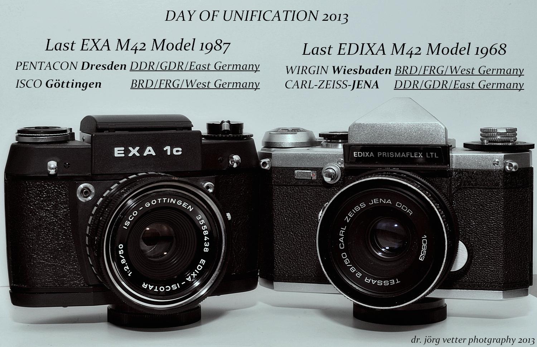 Tag der Vereinigung von M 42 SLR 2013