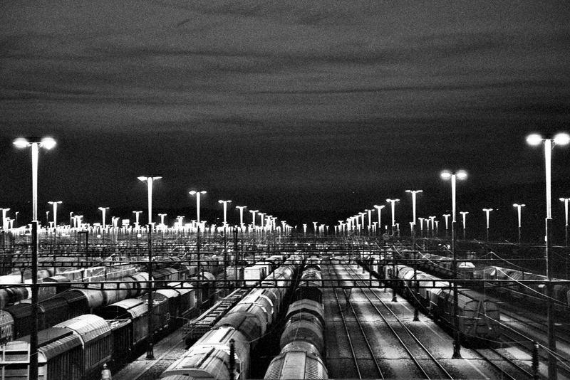 Tag und Nacht... Für Güter; die Bahn... (SBB CFF FFS)