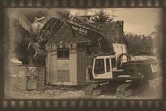 Tagebau Garzweiler 2 - die Abrissunternehmen rücken an