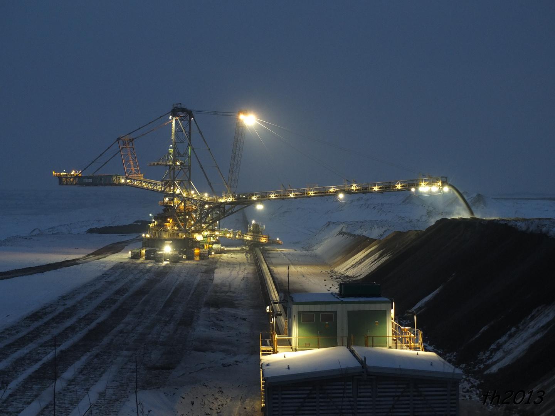 Tagebau Schleenhain Absetzer 1124 (1)