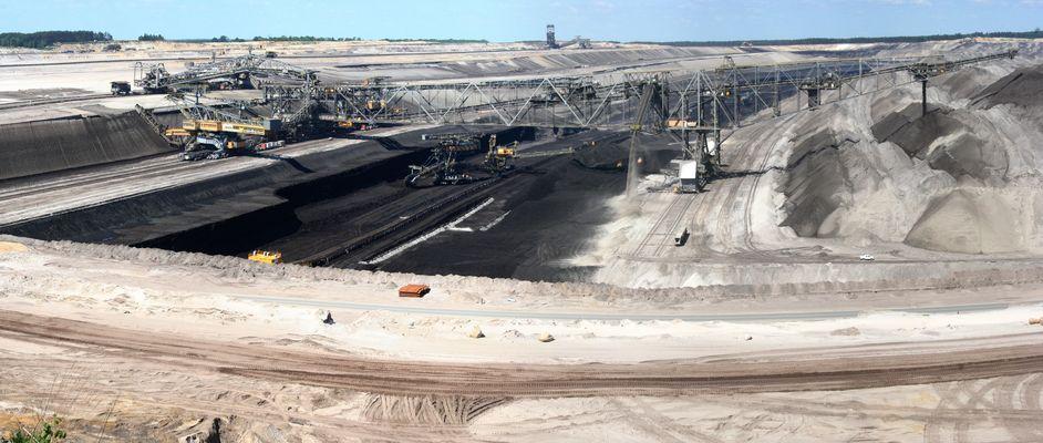 Tagebau Welzow, Aussichtspunkt Süd