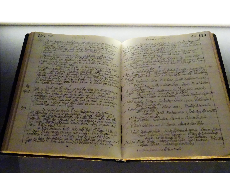 Tagebuch von Paul Klee