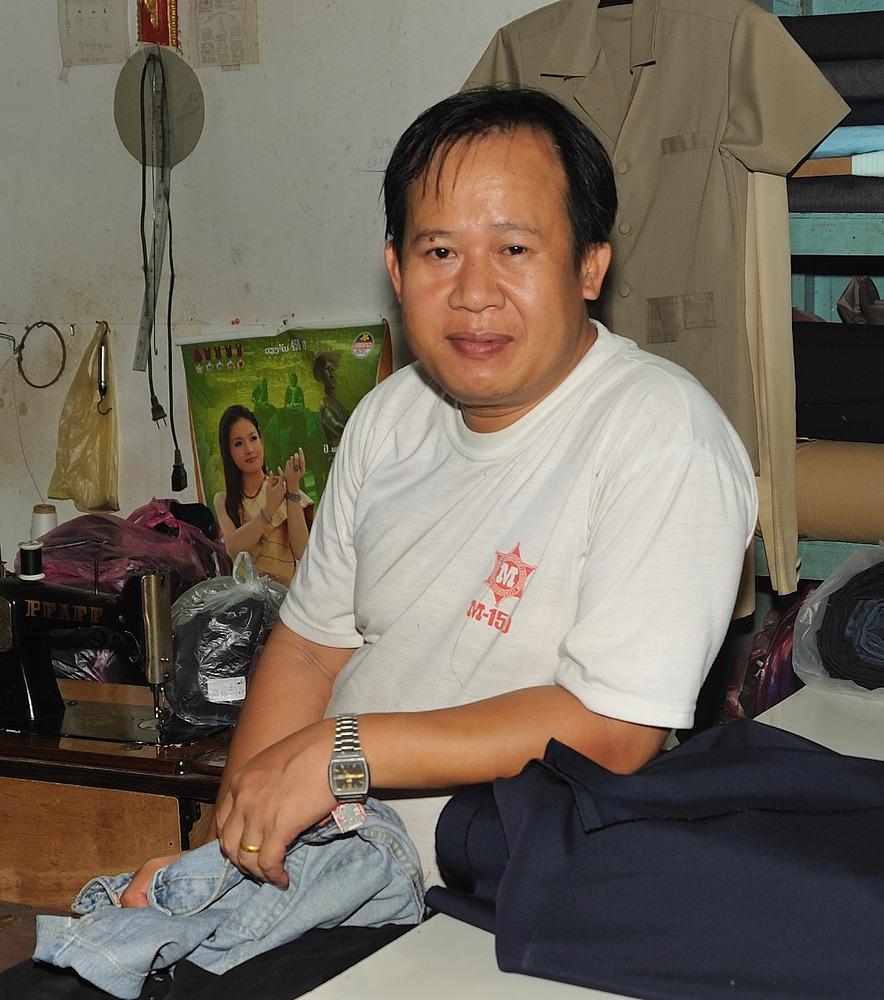Tailer in Luang Prabang