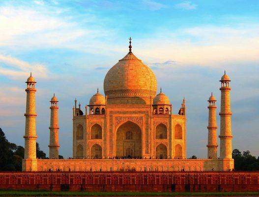 Taj Mahal Backside