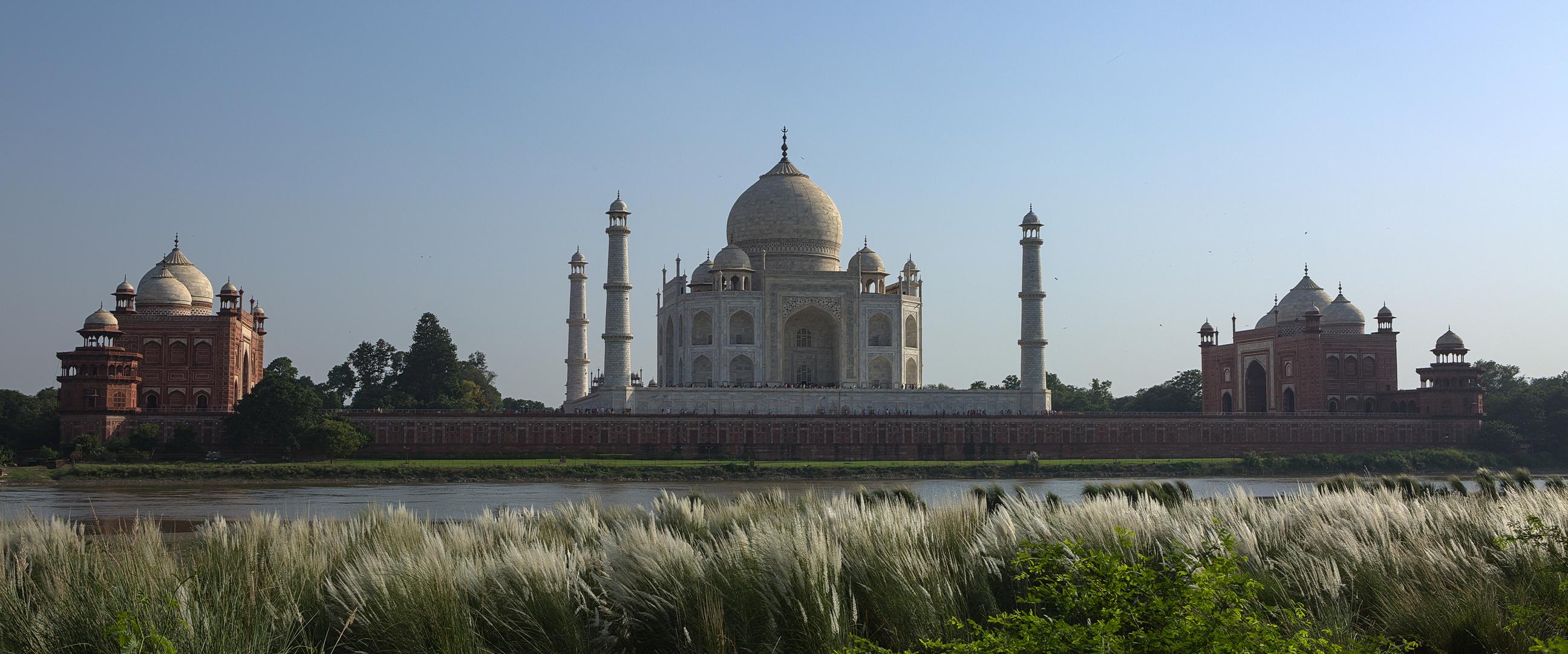 Taj Mahal im Abendlicht