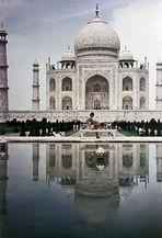 .. Taj Mahal .. in Agra - 1969 -
