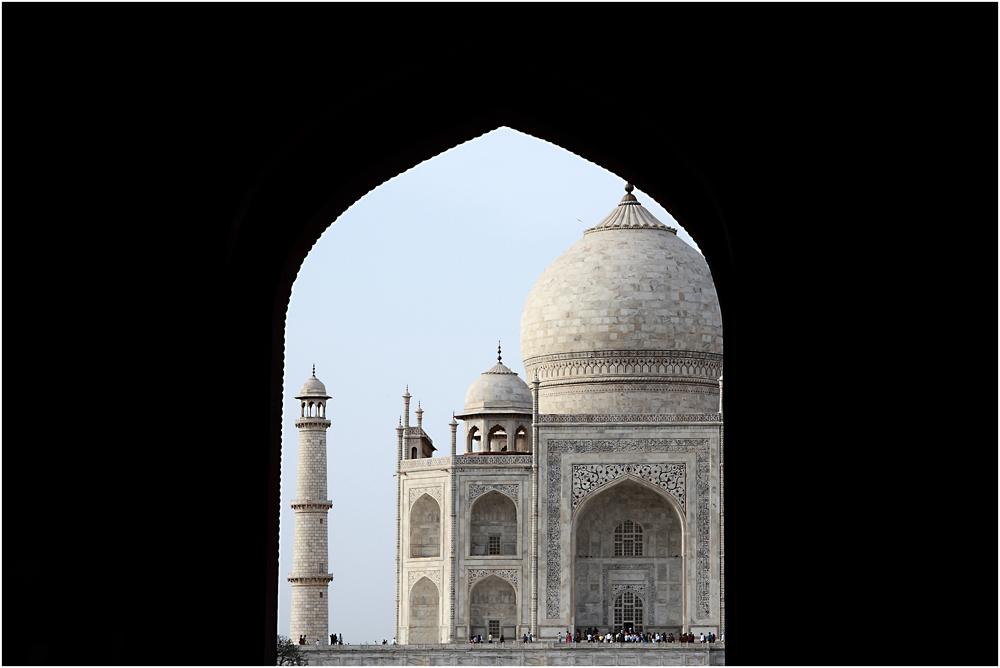 Taj Mahal, particolare