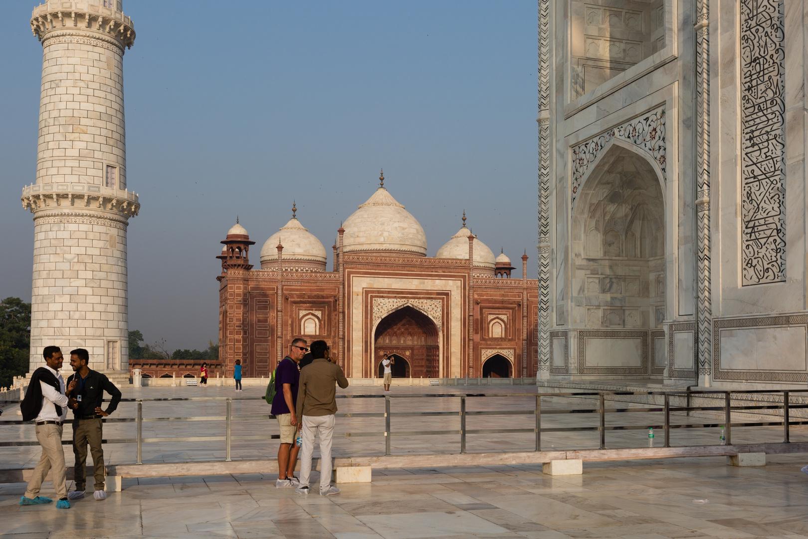 Taj Mahal und Grabmoschee