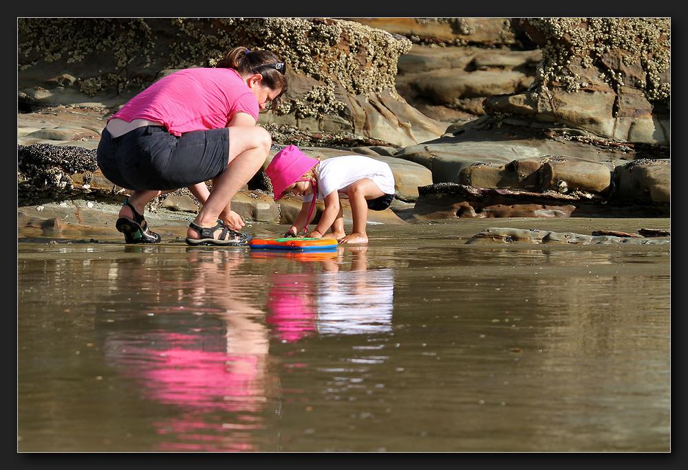 Takapuna Beach Walk - Pink Ladies