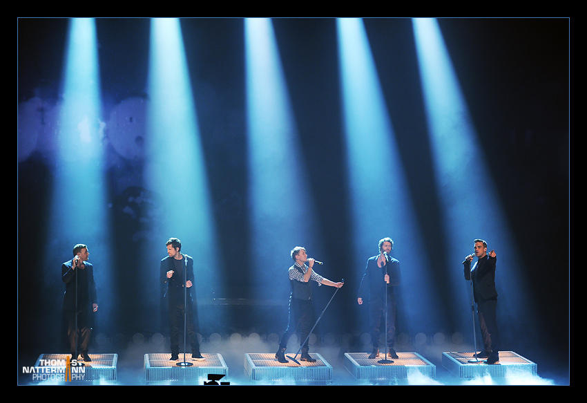 Take That - live in Deutschland