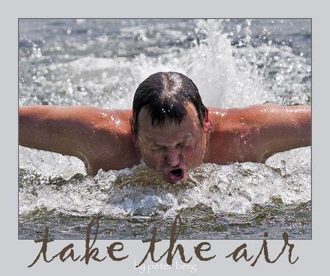 take the air