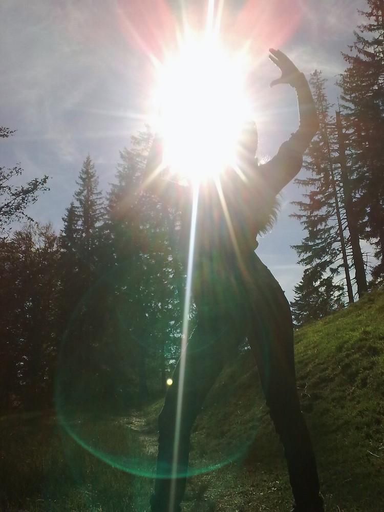 take the sun