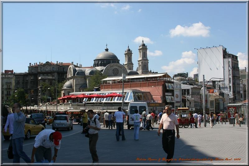 Taksim Square and Beyoglu -Istanbul.2006