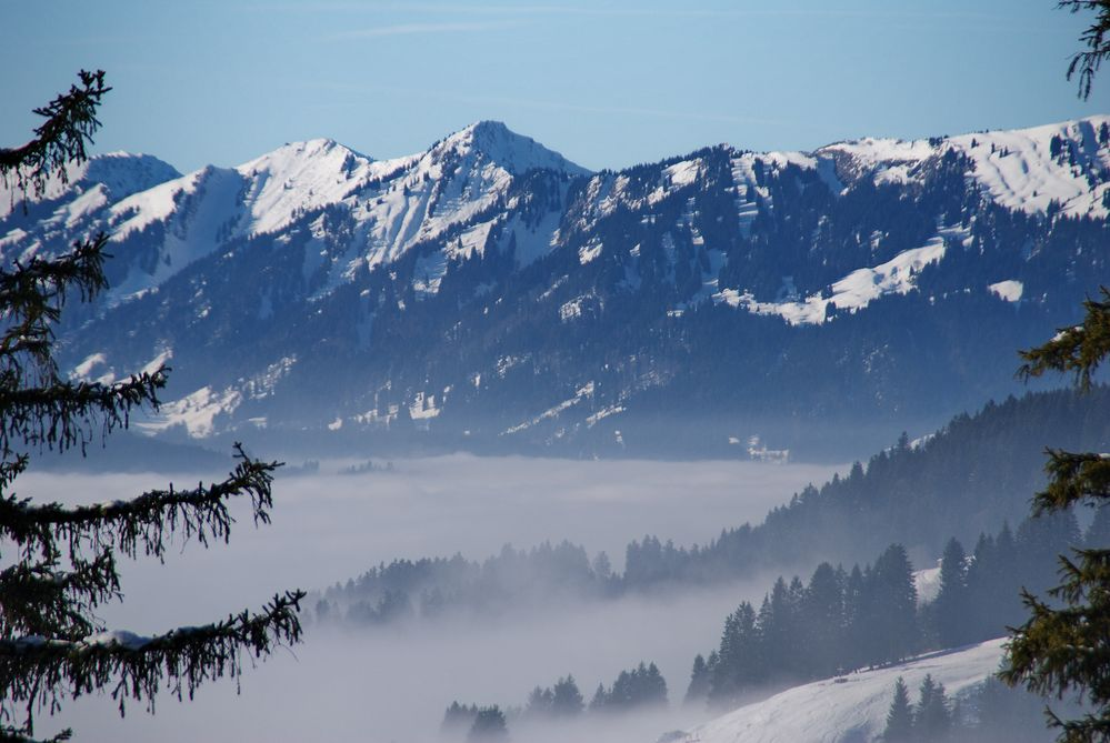 Tal im Nebel