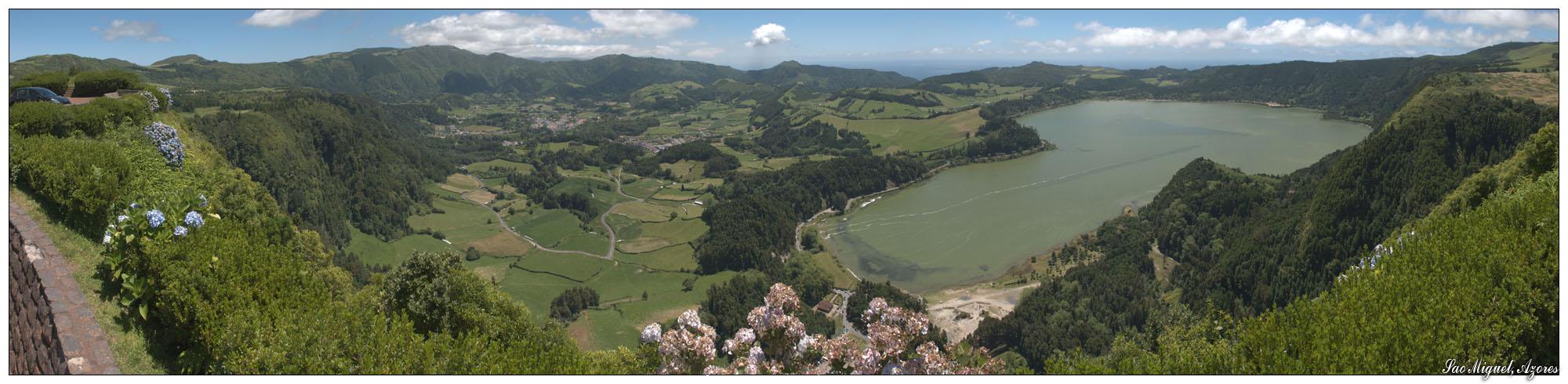 Tal von Furnas (Sao Miguel, Azoren)