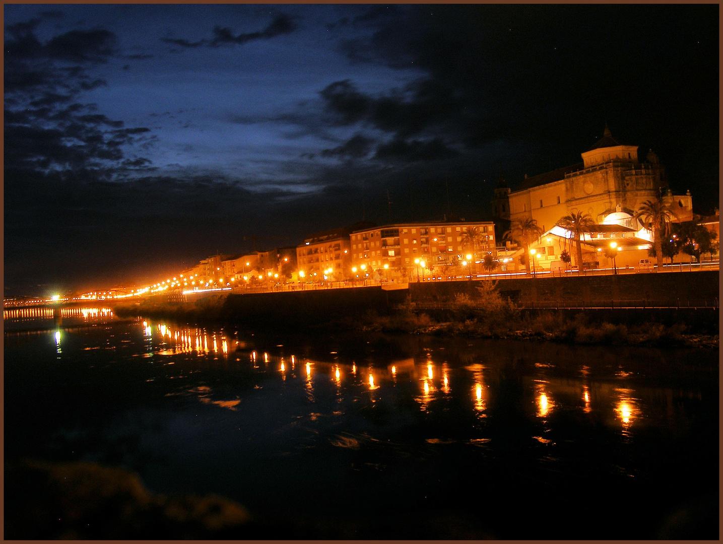 Talavera de la Reina bei Nacht