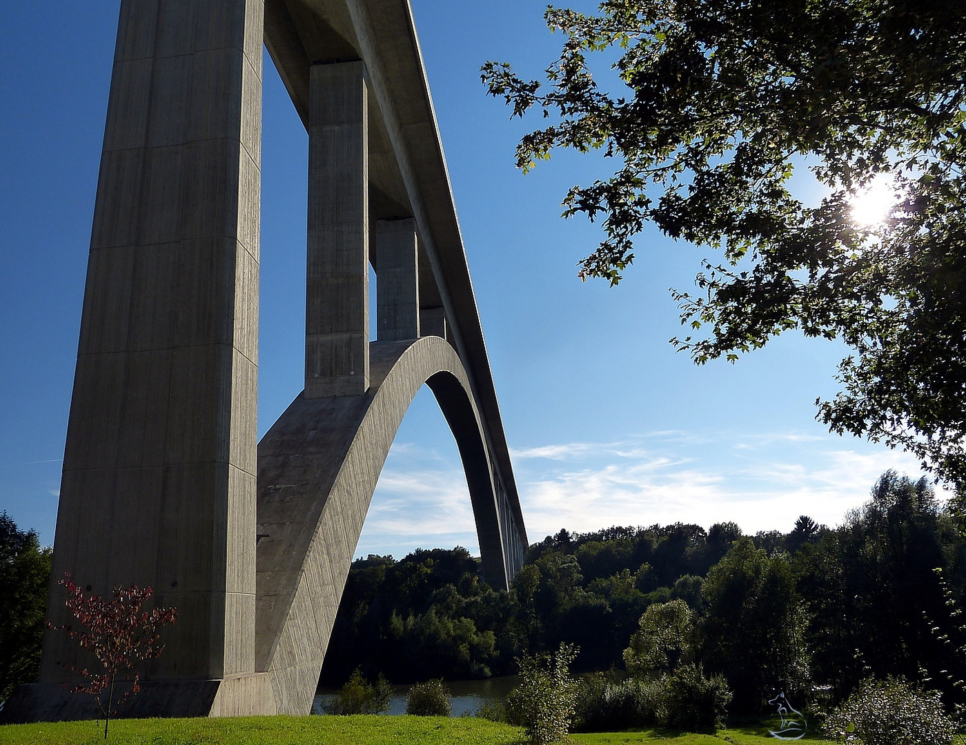 Talbrücke Froschgrundsee