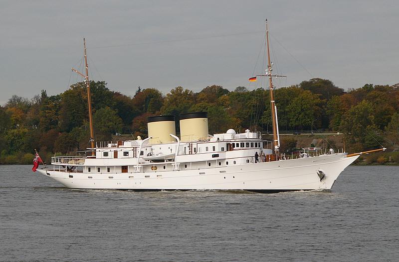 Talitha G   -  Yacht der Getty-Familie