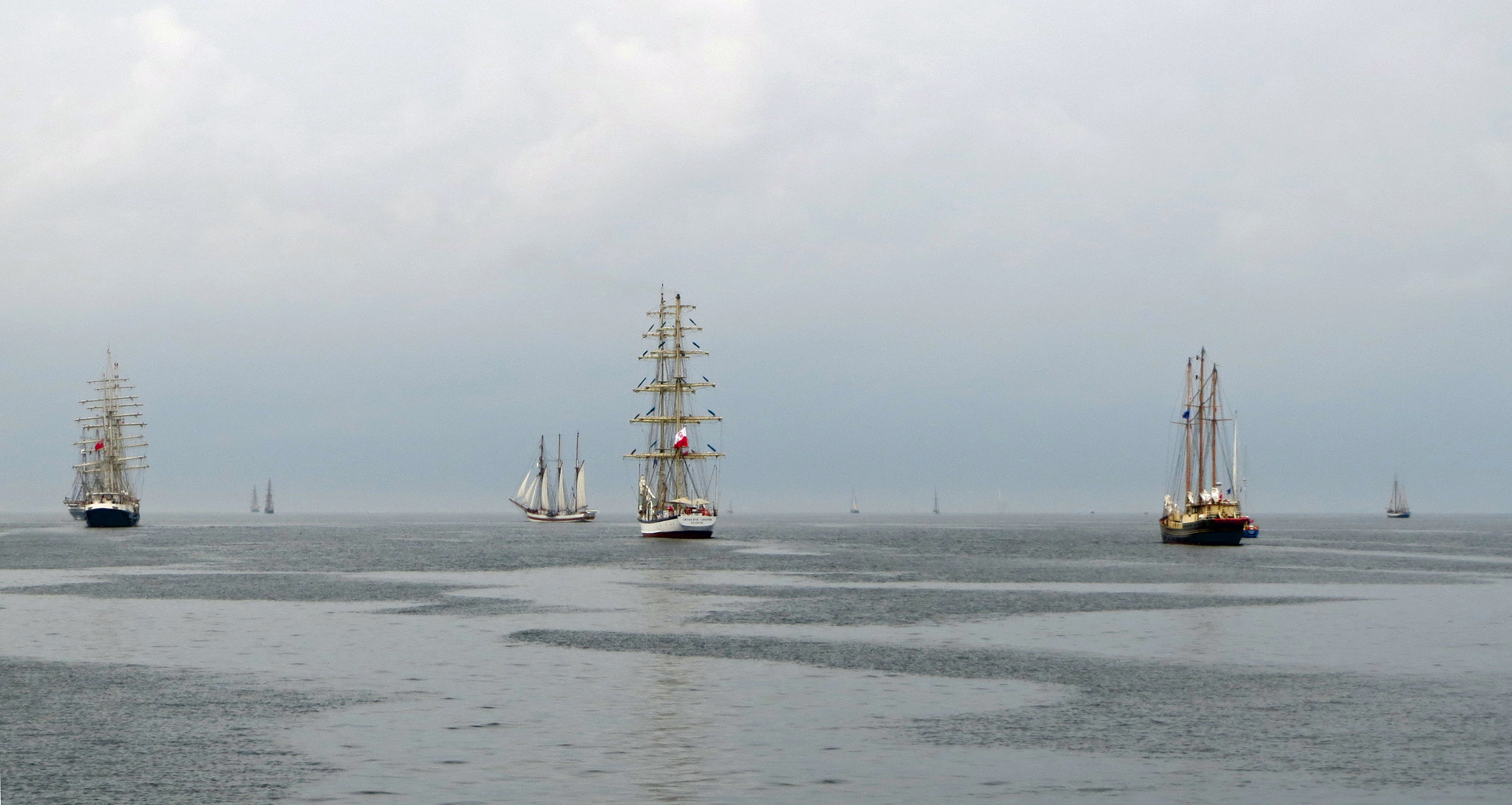 tall ships leaving Bergen for the race to Esbjerg 3