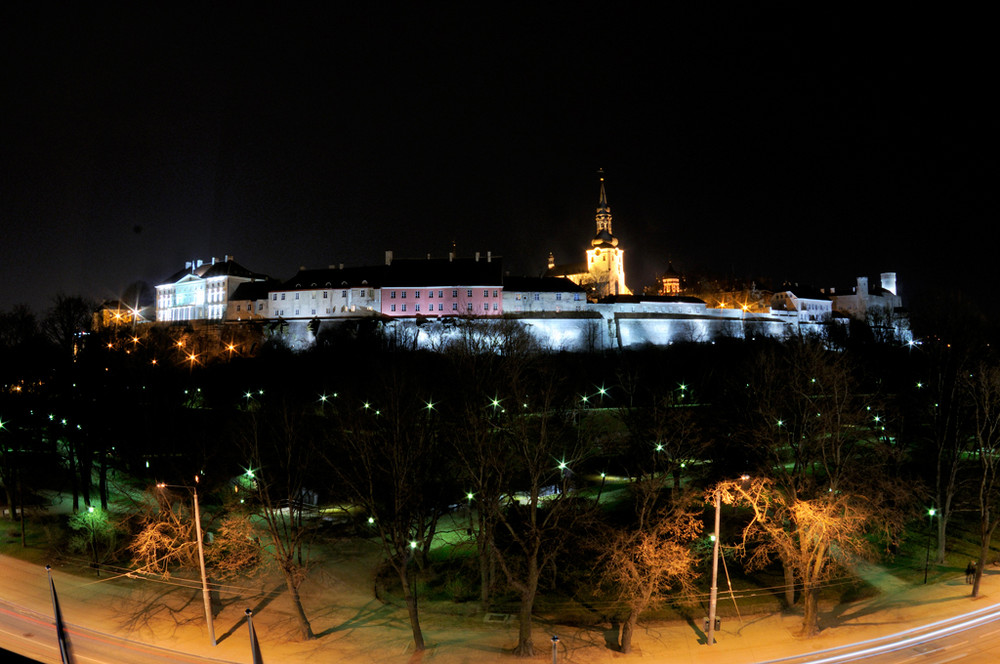 Tallinn Old Town nigth