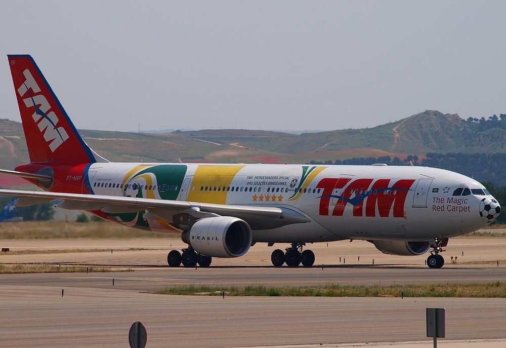 TAM, Patrocinadora Oficial Das Seleção Brasileira