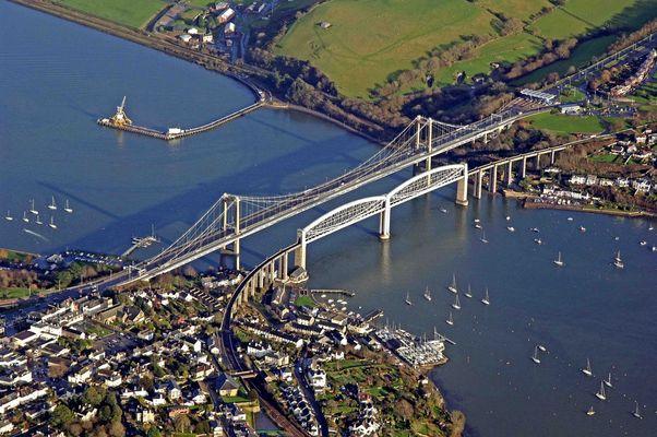 Tamar Bridge survey - Plymouth UK
