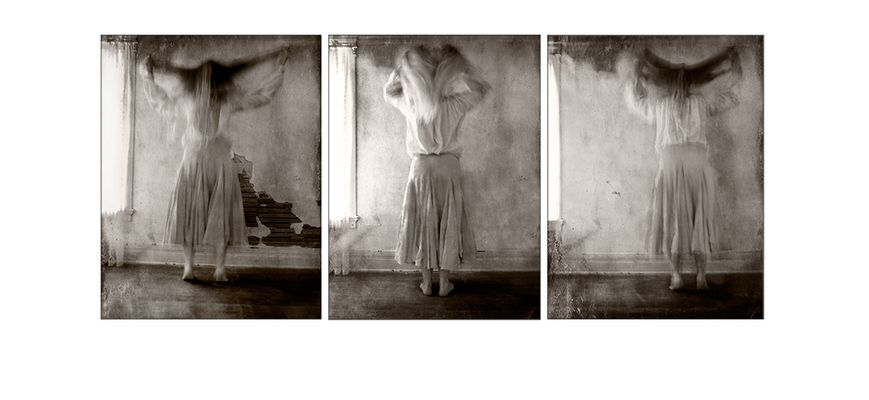 Tammy Bouncing Triptych