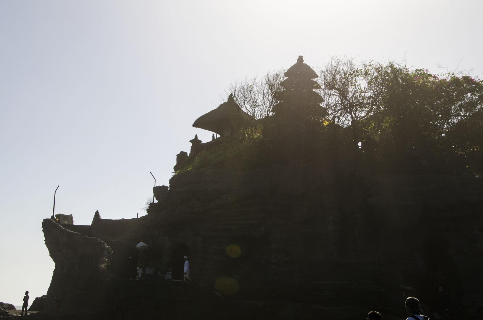 Tanah Lot and the Sun