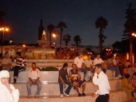 Tanger - Grand Socco - neuer Springbrunnen