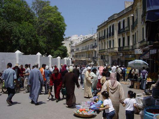 Tanger- Markt in der RUE L´ITALIE